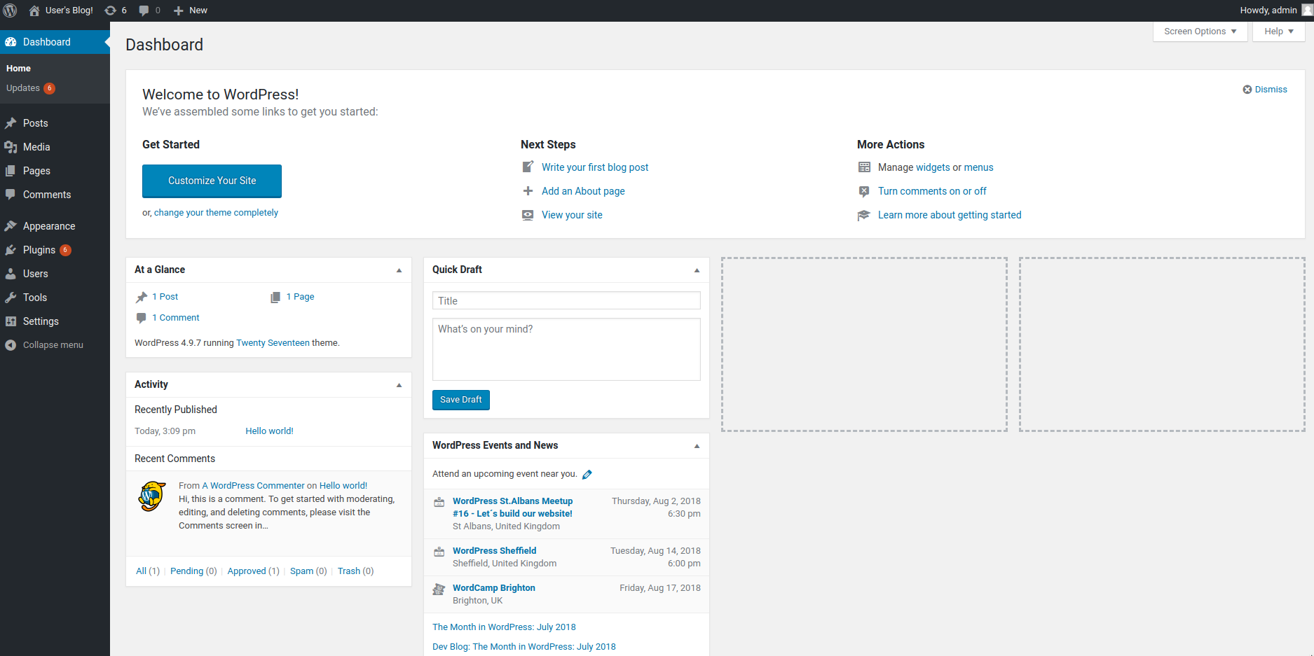 Successfully deployed WordPress via Rancher