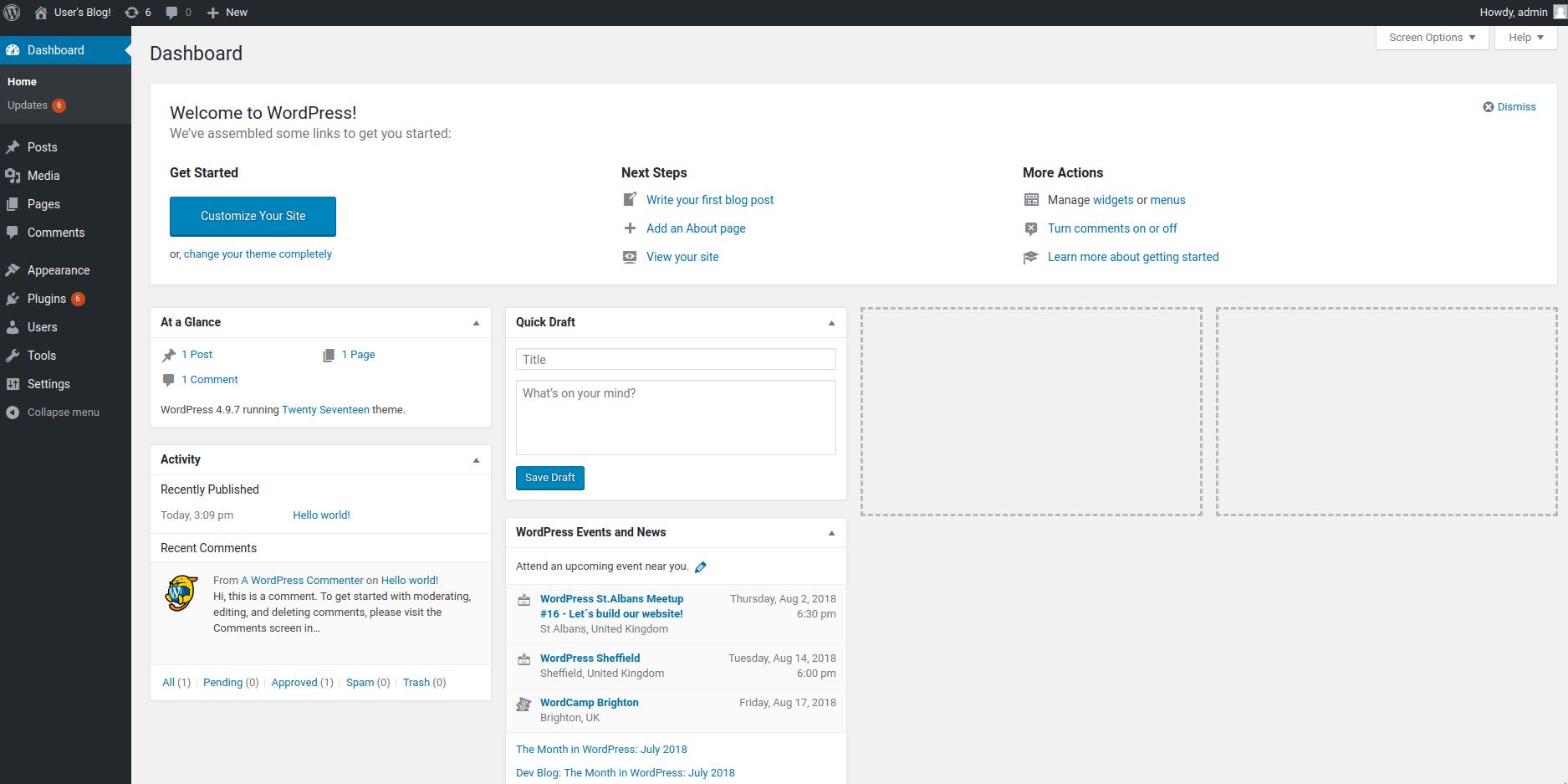 Successfully deployed WordPress via Rancher